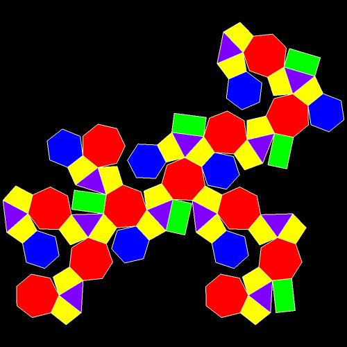 symmetrohedron net